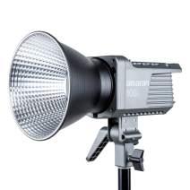Amaran 100d LED Video Light, 130W CRI95+ TLCI96+ 39,500 lux@1m Bluetooth App Control 8 Pre-Programmed Lighting Effects DC/AC Power Supply, Made by Aputure