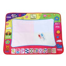Yosoo Water Drawing Mat Painting Writing Board Toy Doodle Board with 2 Magic Pens Kid Doodling and Learning Tool 8060cm