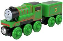 Thomas & Friends Fisher-Price Wood Henry Push-Along Train Engine