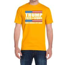 CLOTHING WORLD Trump 2020 The Sequel Make Liberals cry Again - Men's T-Shirt - Poly-Cotton