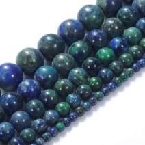 "Natural Stone Beads 8mm Phoenix Lapis Lazuli Gemstone Round Loose Beads Crystal Energy Stone Healing Power for Jewelry Making DIY,1 Strand 15"""