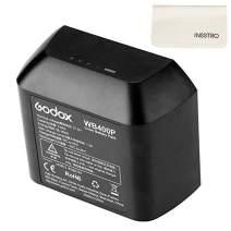 Godox WB400P Battery Replacement, 2600mAh Li-on Battery Pack for Godox AD400Pro Strobe Flash