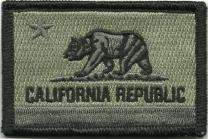 California Tactical Patch - ACU/Foliage