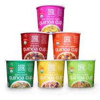 Keen One Quinoa Variety Pack - Try All Six Flavors of Our Healthy and Delicious Royal Organic Quinoa {Pack of 6 Cups}