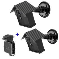 Wall Mount Bracket for Blink XT2,HOLACA Protective Weatherproof Housing Mount for Blink XT2/XT Outdoor Cameras Security System (2 Pack)