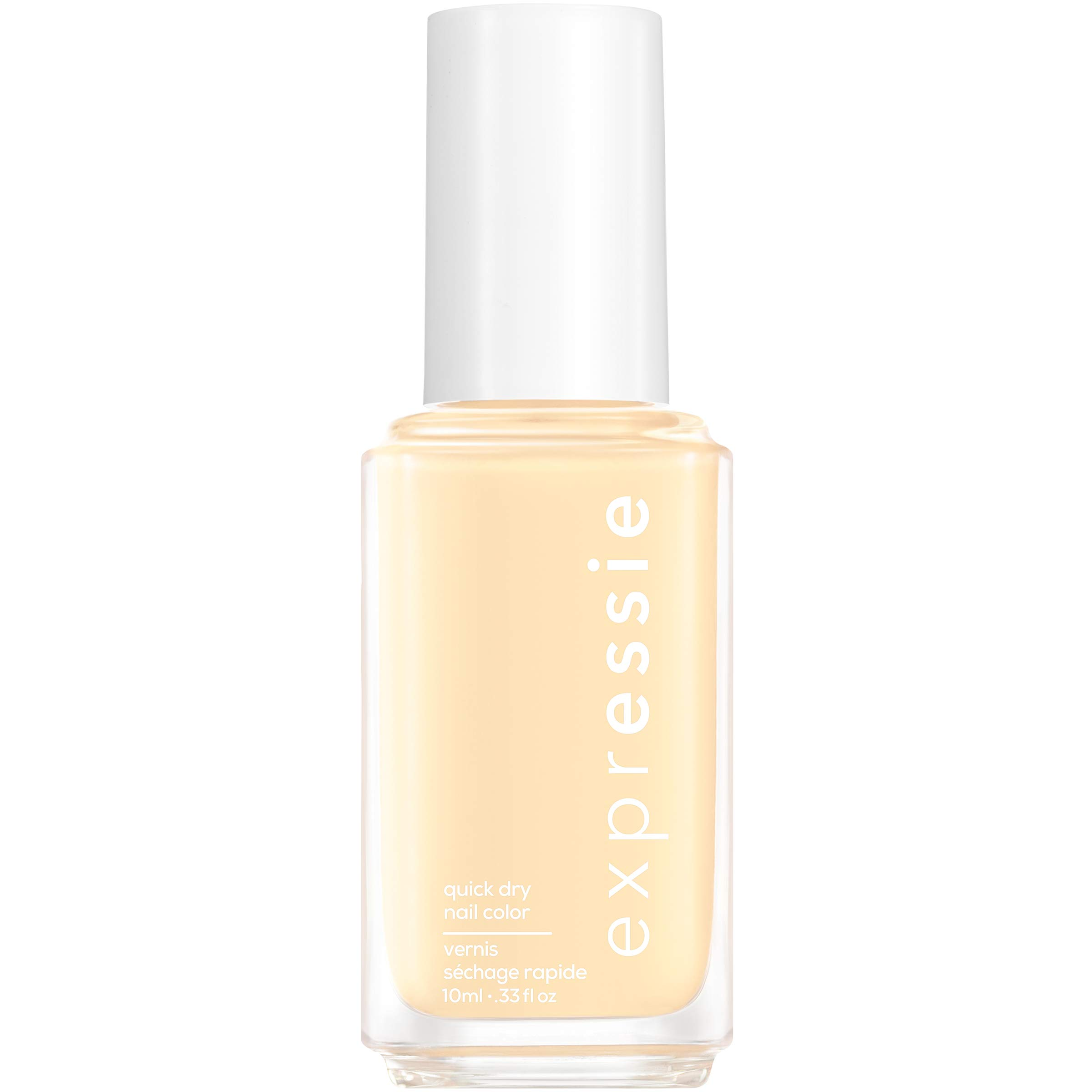 essie expressie Quick-Dry Nail Polish, Soft Yellow 100 Busy Beeline, 0.33 Ounces