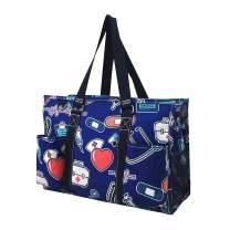 Nurse Theme NGIL Medium Canvas Tote Bag