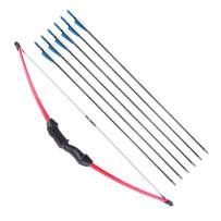 """UMB 45"""" Archery Bow and Arrow Set Beginner Recurve Bow Outdoor Sports Game Hunting Toy Gift Bow Kit Set with 6 Arrows 18 Lb for Adults Youth Teens Kids Girls Boys"""