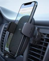 AUKEY Car Phone Holder【Upgraded Never Fall Hook Clip 2021】 (Black)