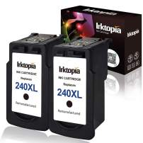 Inktopia Remanufactured Ink Cartridges Replacement for Canon PG-240XL 240XL (2 Black) High Yield for Canon PIXMA MG3620 MG3520 MX532 MX472 MX452 MG3220 MG2220 MG2120 MX392 MX432 MX512 MG3522 MG3620