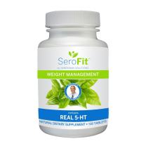 SeroFit Serotonin Weight Management Supplement with Real 5-HT - Effective Weight Loss and Appetite Suppressant for Men and Women (120 Caplets)