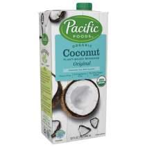 Pacific Foods Organic Coconut Original Plant-Based Beverage, 32oz, 12-pack