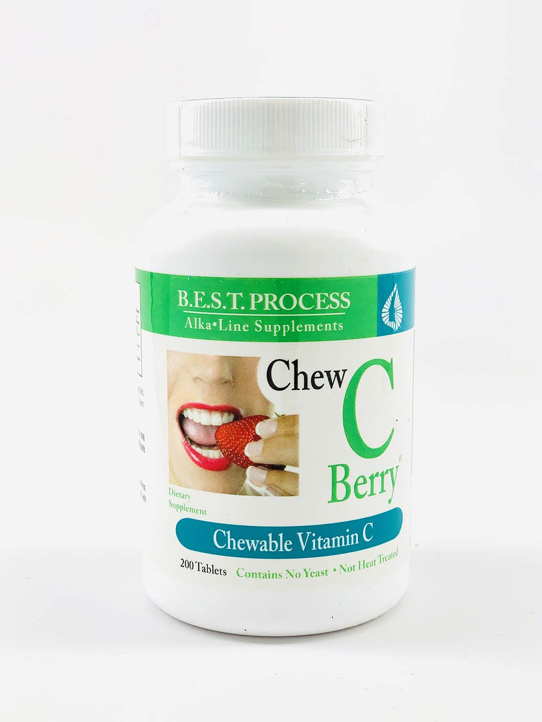 Chew C Berry by Morter HealthSystem B.E.S.T. Process Alkaline Great Tasting Chewable Vitamin C Antioxidant Supplement for Immunity, Health & Wellness with Rose Hips & Rutin