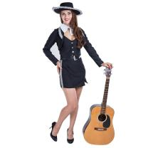 Charm Rainbow Women's Mariachi Costume Mexican Pop Star for Halloween Theme Party