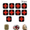 Zaptex Cross Tactical Patch PVC First Aid Medical Rescue Patch Chapter for Outdoor (20 pcs)…