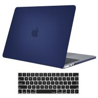 """Procase MacBook Pro 15 Case 2019 2018 2017 2016 Release A1990/A1707, Hard Case Shell Cover and Keyboard Cover for MacBook Pro 15"""" (2019/2018/2017/2016) with Touch Bar & Touch ID –Darkblue"""
