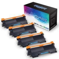 Ink E-Sale Compatible High Yield Brother TN420 TN450 Toner Cartridge Black for Brother HL-2240 HL-2240D HL-2270DW HL-2280DW MFC-7360N MFC-7860DW HL-2220 MFC-7240 IntelliFax 2840 2940 Printer (4-Pack)