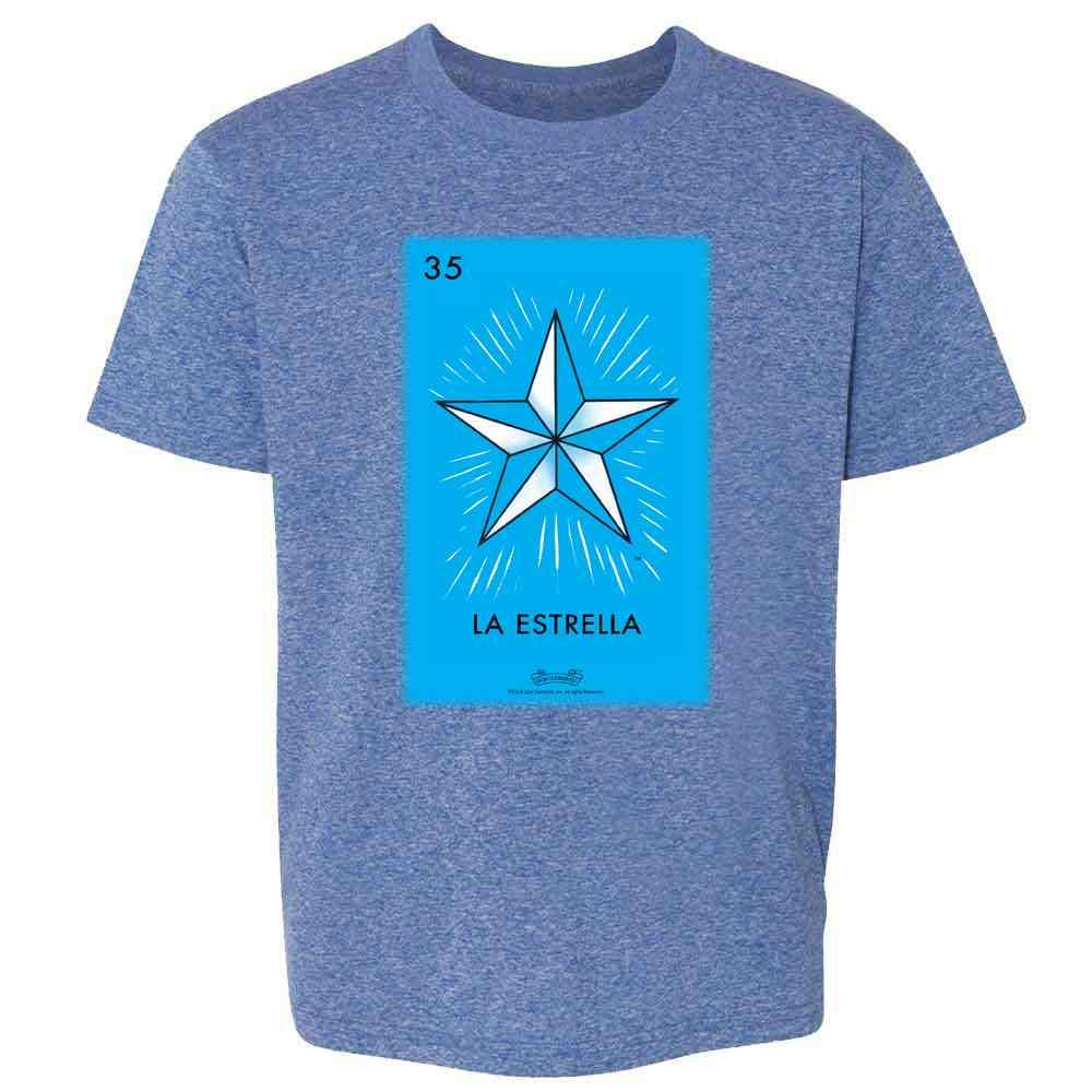 Pop Threads Loteria Cards Mexican Lottery Bingo Youth Kids Girl Boy T-Shirt
