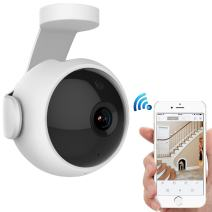 Wireless Security Camera, NEXBANG 720P HD Video WIFI Security Camera With Two-Way Audio Motion & Voice Detection Alerts Night Vision for Smart Home Indoor