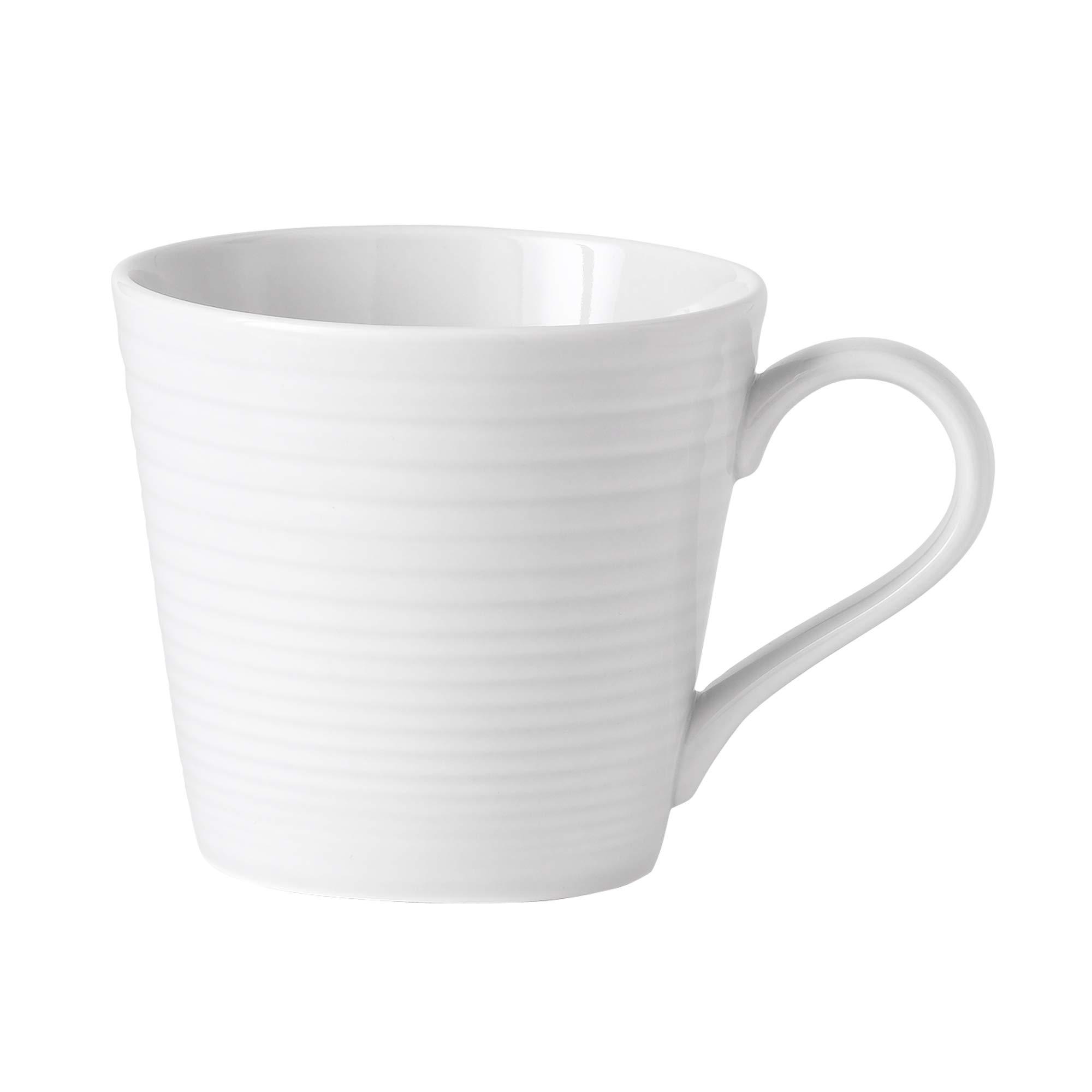 Gordon Ramsay Maze White Dinneware Mug 14 Oz