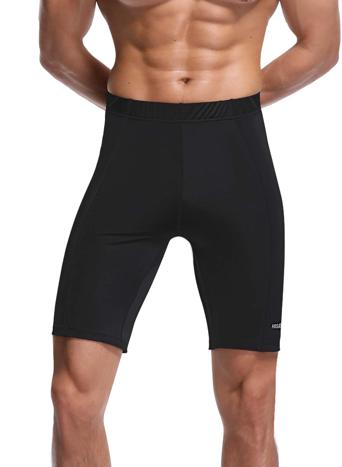 """HISKYWIN 6""""/9"""" Inseam Mens Jammer Shorts UPF 50+ Surfing Quick Dry Athletic Durable Training Swim Trunks"""