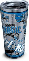 Tervis NBA Orlando Magic All Over Stainless Steel Insulated Tumbler with Lid, 20 oz, Silver