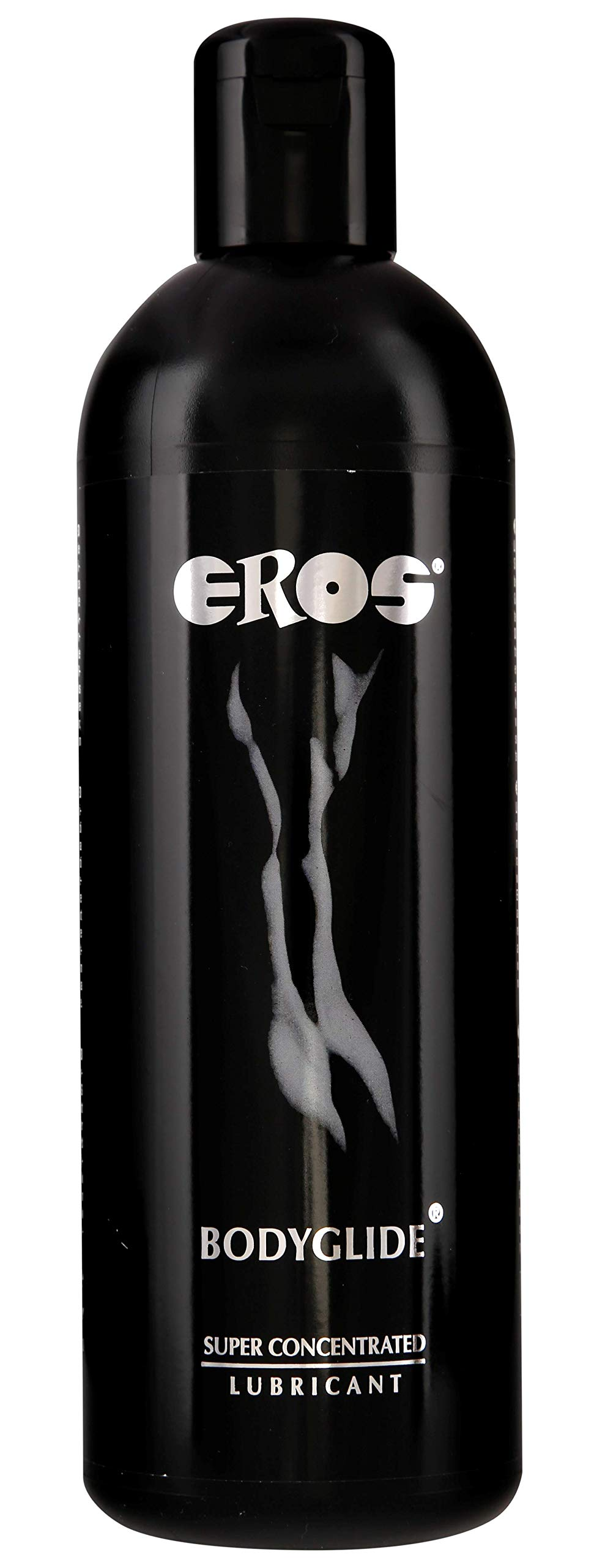 Megasol EROS Bodyglide Super Concentrated Body Gel - Silicon Based Personal Lubricant. Latex Condom Safe, Ultra Long-Lasting Sex Lube Without Parabens or Glycerin ~ 1000 mL