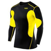 TCA Men's SuperThermal Compression Base Layer Top Long Sleeve Thermal Under Shirt