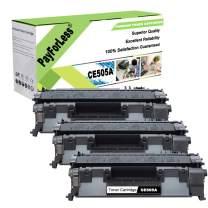 PayForLess Compatible Toner Cartridge for HP 05A CE505A HP 80A CF280A for HP Laserjet P2035 P2055dn P2035n 2055 Pro 400 M401n M401Dne M425Dw M425Dn