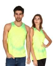 Tie Dye Tank Top Men Women - Fun Bright Colotful Tops