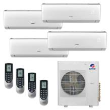 Gree MULTI36CLIV403-36,000 BTU Multi21+ Quad-Zone Wall Mount Mini Split Air Conditioner Heat Pump 208-230V (9-9-12-12)