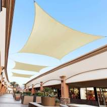 Royal Shade 10' x 12' Beige Custom Size Order to Make Sun Shade Sail RTAPS16 Canopy Mesh UV Block Rectangle- Commercial Standard Heavy Duty - 200GSM - 5 Years Warranty
