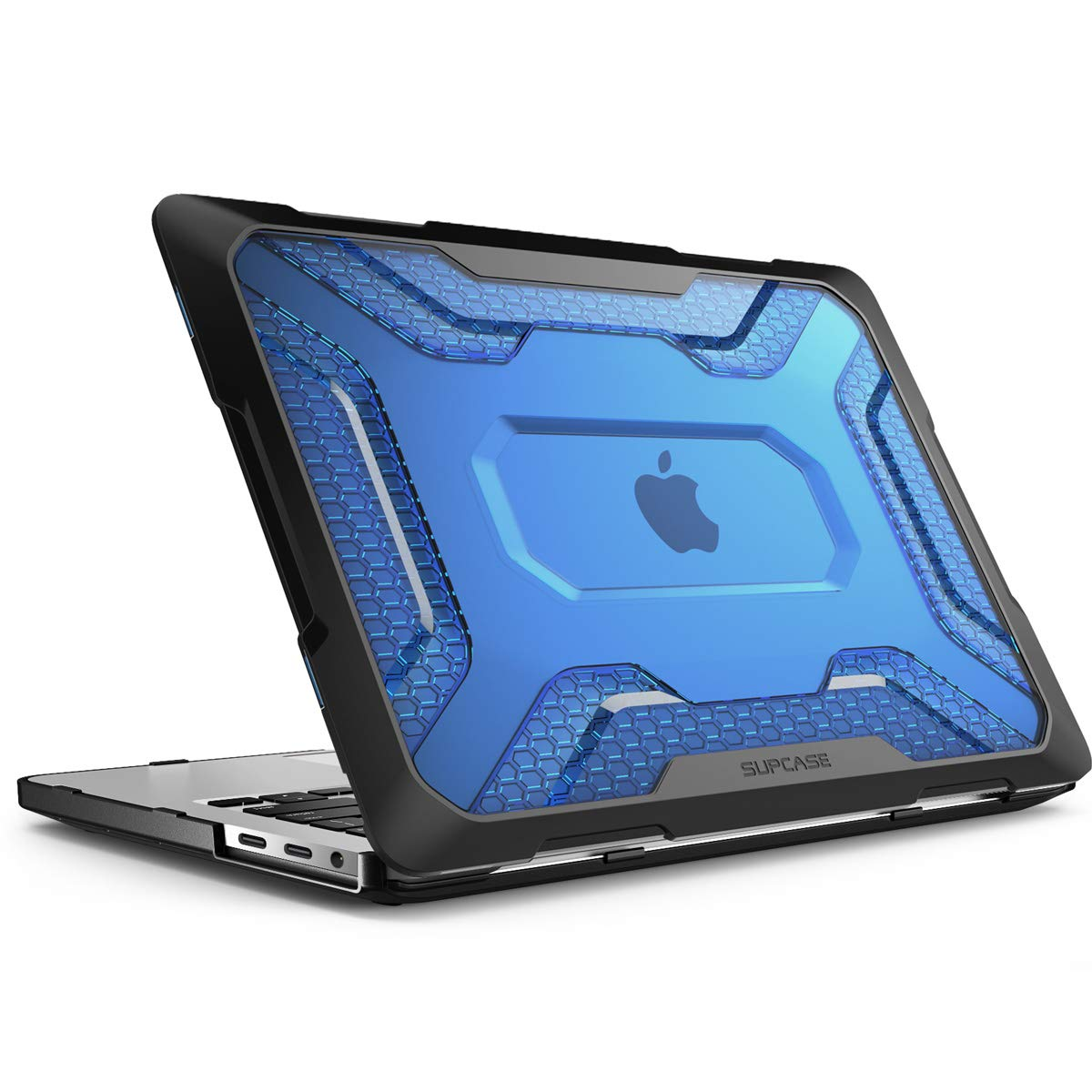SUPCASE Unicorn Beetle Series Case for MacBook Pro 13 Inch 2019 2018 2017 2016, Slim Rubberized TPU Bumper Cover for MacBook Pro A2159/A1989/A1706/A1708 with Retina Display or W/O Touch Bar (Blue)