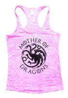 Funny Threadz Womens Mother of Dragons Tank Top Game of Thrones Shirt