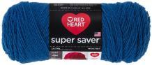 Red Heart Super Saver Yarn, Blue Suede