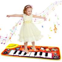 Tesoky Musical Keyboard Mat for Toddlers - Best Gifts