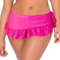 Smart+Sexy Women's Ruffle Skirted Bikini Bottom