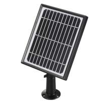 Solar Panel Power Supply for Wireless Outdoor IP Security Camera Compatible with Forrader Farsler Adorbee A3 Camera(with 4 Meters Cable)