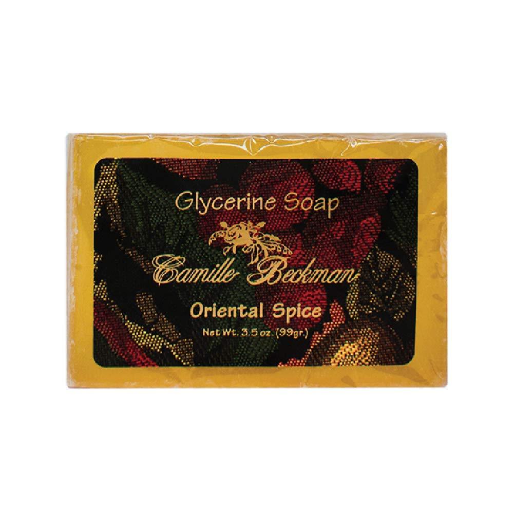 Camille Beckman Glycerine Bar Soap, Oriental Spice, 3.5 oz