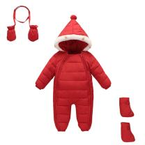 Mud Kingdom 3 Piece Baby Toddler All in One Snowsuit Romper Winter