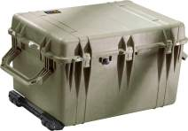 Pelican 1660 OD Green Protective Case With Foam Watertight Hard Case