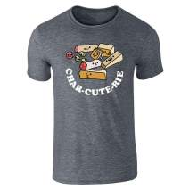 Pop Threads CharCUTErie Board Cute Funny Graphic Tee T-Shirt for Men