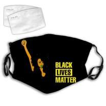 Comfortable Facial Decorations 3D Black Live Better Women Anti-Dust Windproof Cover Adjustable Elastic Strap