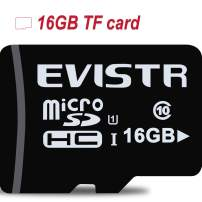 EVISTR Micro SD Card 16GB 98MB/s U1 High Speed Memory Card for Full HD Video Camera DashCam Smartphones Tablet MP3 Player Voice Recorder and More