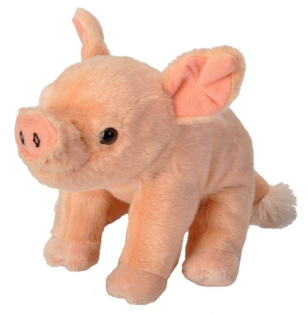 Wild Republic Pig Baby Plush, Stuffed Animal, Plush Toy, Gifts for Kids, Cuddlekins 8 Inches