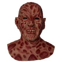 Halloween Scare Latex Mask Freddy Cave Demon Skull Zombie Skull Scare for Man Adult Kid Full Head