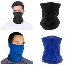 Face Mask Mouth Cover Neck Gaiter Scarf Breathable Bandana for Sun, UV Protection, Cycling, Outdoors Multicolor