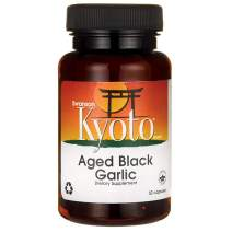 Swanson Aged Black Garlic 650 Milligrams 30 Capsules