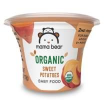 Amazon Brand - Mama Bear Organic Baby Food, Sweet Potatoes, 4 Ounce Tub, Pack of 12