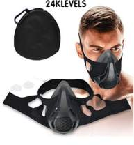 Quner Adjustable Oxygen simulate high Altitude Breathe Resistance Training Sports mask with Different Training Levels